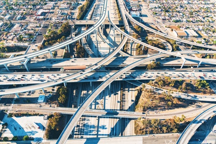 Los Angeles freeways