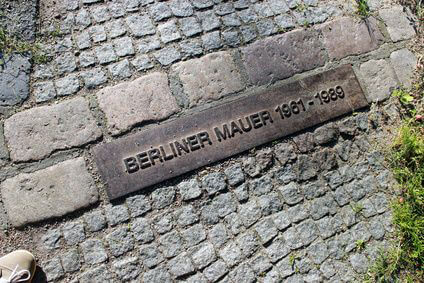 The Berlin Wall plaque